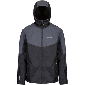 Regatta Alkin II Jacket Men Black/Seal Grey Reflective